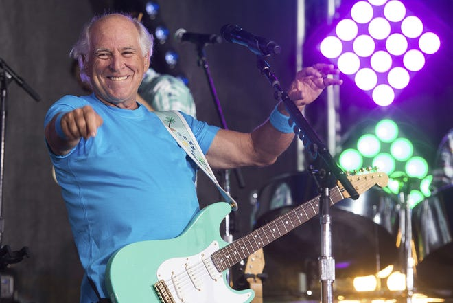Jimmy Buffett makes his annual visit to Riverbend Music Center in July 2016.