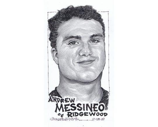 Andrew Messineo, Ridgewood football
