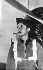Over the past several decades, there have been search efforts for Gertrude Tompkins, a WASP who went missing in October 1944 after she was supposed to fly a plane from California to Newark, NJ. Her remains and the plane wreckage have never been found.