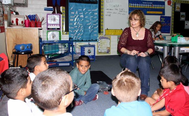 Dorothy Escudero, second grade teacher at Bell Elementary School.