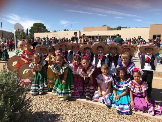 Students at J Paul Taylor Academy celebrated Diez y Seis de Septiembre Thursday, Sept. 12 at the school. Second graders at the school performed ballet folklórico.