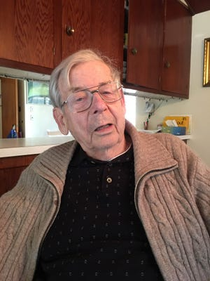Clarence Myrold was a young infantry man when he was part of the Normandy invasion on D-Day. He recently reminisced about his experiences and would like to have people better informed about the history of World War II.