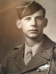 Young infantry man Clarence Myrold performed heroically in the Normandy invasion and subsequent battles in World War II.