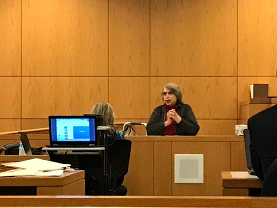 Carol Carmichael testified in court Sept. 17 during the trial of Tyler Owens, a man later found guilty of attacking and robbing her at her Pensacola home in the summer of 2018.