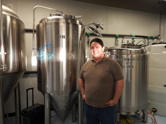 "Arturo ""Art"" Ruiz is one of five co-owners of Desert Monks Brewing Company. He runs most of the beer making operations."