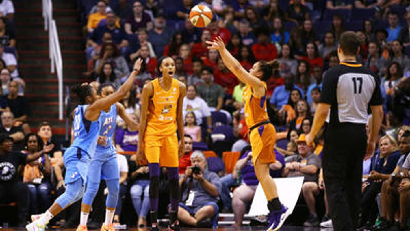 Mercury guard Leilani Mitchell wins WNBA Most Improved award for second time