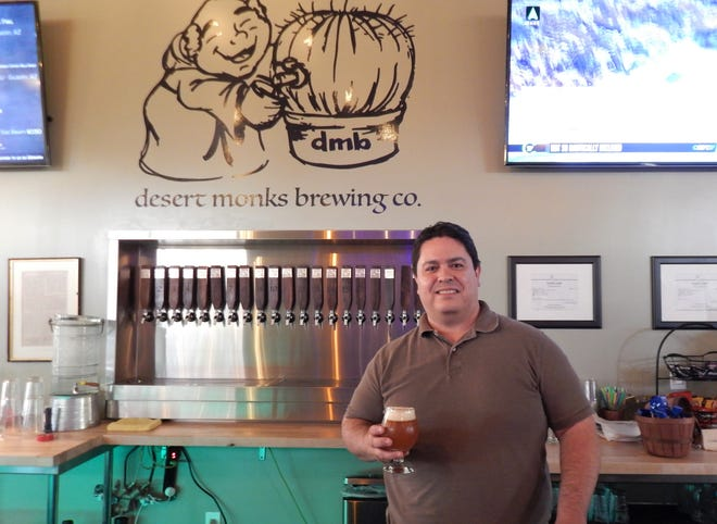 Arturo Ruiz is one of five co-owners at Desert Monks Brewing Company in Gilbert.