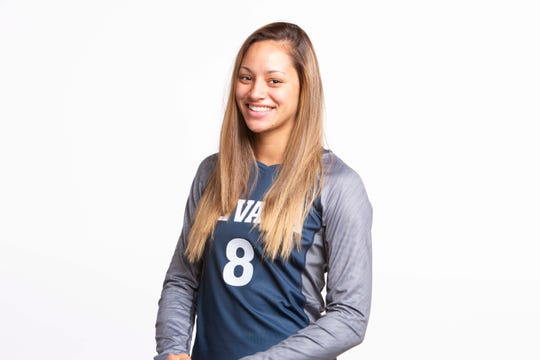 Nevada junior Kayla Afoa