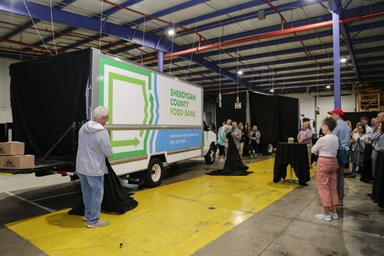 The Sheboygan County Food Bank unveiled new branding on Wednesday, Sept. 18.