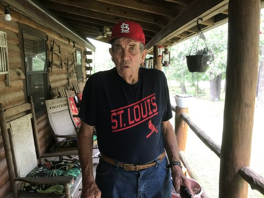 James Smith, 82, of Aurora, is disappointed and frustrated  that he no longer can watch the St. Louis Cardinals, who are in the midst of an end-of-season battle for the division title, on Dish Network. It's because of a contract dispute between Dish Network and Fox Midwest Sports.