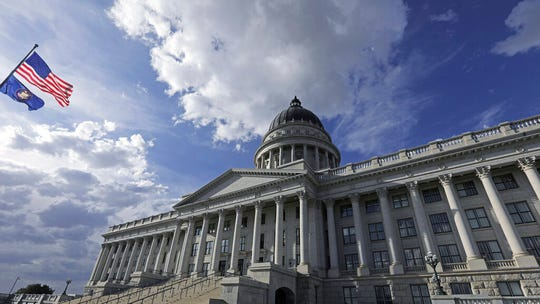 The Utah Capitol is shown Monday, Sept. 16, 2019, in Salt Lake City. Utah lawmakers are expected to meet Monday night to consider changes to the state's medical marijuana law, an issue that has faced fierce criticism from people on both sides of the debate. (AP Photo/Rick Bowmer)