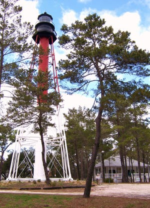 Crooked River Lighthouse in Carrabelle.