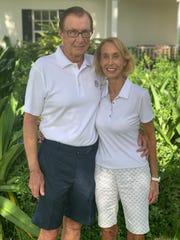 Chuck and Anne Erickson are co-chairs of the 2019 Women's Refuge Golf Tournament.