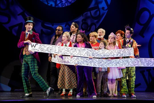The cast of Roald Dahl's Charlie and the Chocolate Factory