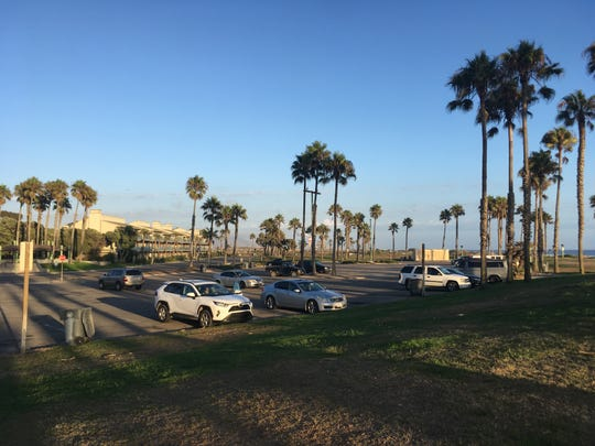 The site where developer Dan Zaharoni wants to develop a hotel in Port Hueneme.