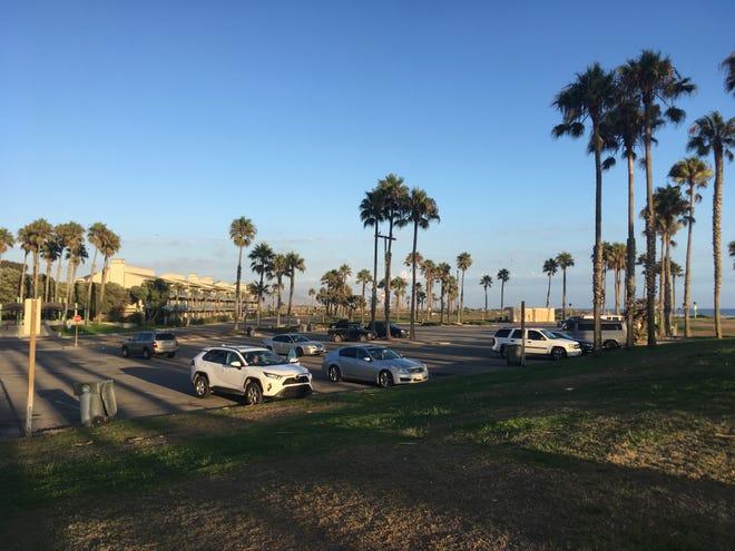 The site where developer Dan Zaharoni wants to develop a hotel in Port Hueneme.