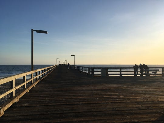The Hueneme Pier.