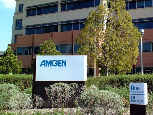 Amgen's Thousand Oaks headquarters.