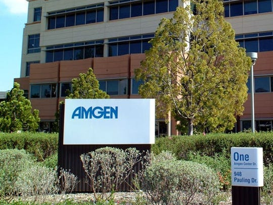 Biotech giant Amgen plans to lay off about 172 employees throughout the country, including at its Thousand Oaks headquarters, the corporation has informed the state.