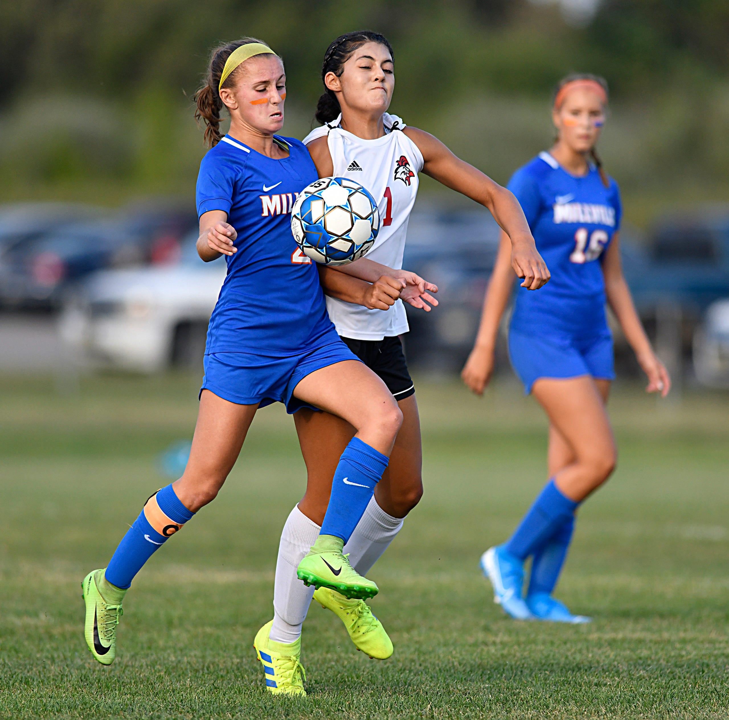 Photos Millville High School Girls Soccer Tops Vineland 6 1