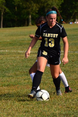 Nanuet's Abbey Knobel was voted the lohud girls soccer Player of the Week on Sept. 17, 2019.