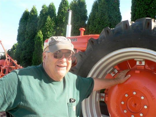 Steve Agnew farmer turned restorer collector.