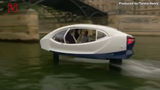 A boat with wings, created by Seabubbles began test runs on river Seine in Paris, France. Veuer's Taisha Henry has the story.