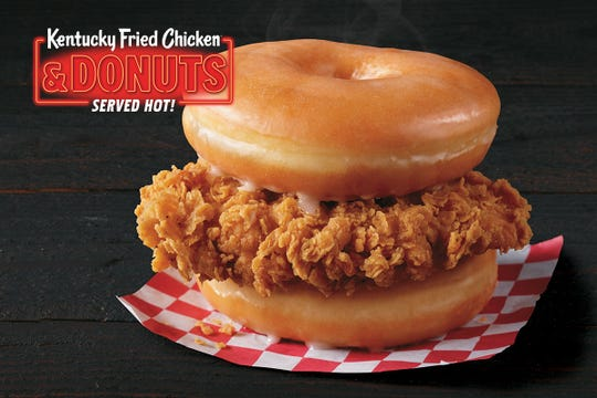 Select KFC locations are testing Fried Chicken & Donuts.