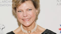 WASHINGTON, DC - OCTOBER 21: Cokie Roberts at National Archives Foundation Gala on October 21, 2017 in Washington, DC. (Photo by Paul Morigi/Getty Images for National Archives Foundation) ORG XMIT: 775060926 [Via MerlinFTP Drop]