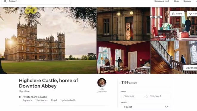 Book a room in Highclere Castle