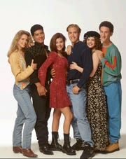 """Cast members of NBC's """"Saved by the Bell"""" will reunite in the upcoming reboot of the show. The new version will feature original cast members Elizabeth Berkley and Mario Lopez."""