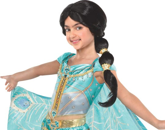 Princesses never seem to go out of style for Halloween. This Princess Jasmine costume, found at Party City, retails for about $50.