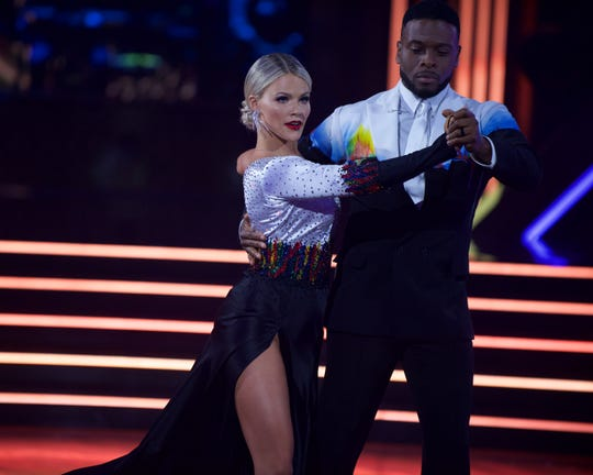 Witney Carson and Kel Mitchell