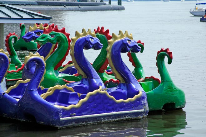 Some may find the lure of the dragon boat irresistible.