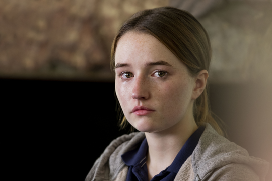 Marie (Kaitlyn Dever) is the middle name of a real-life woman who was raped at knifepoint and whose story was shared in a 2015 ProPublica article.