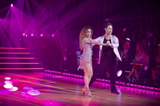 Ally Brooke and Sasha Farber