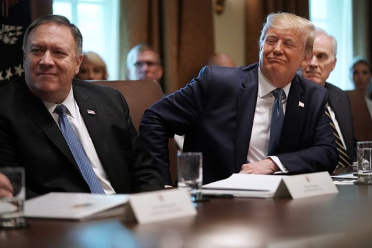 Westlake Legal Group a1986fb8-aeea-4759-a6a0-8f963fc59a52-GTY_1162404480 Pompeo: Democrats' impeachment inquiry an effort to 'intimidate, bully' State Dept. workers