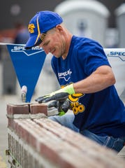 Ten teams will compete in the 2019 SPEC MIX BRICKLAYER 500 Wisconsin Regional on Wednesday. The winning team will advance to the world championship in Las Vegas.