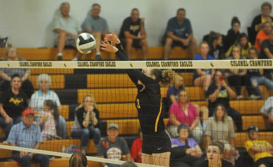 Rylee Ritzhaupt made an immediate impact on the Lady Eagles as a freshman.