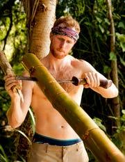 Tommy Sheehan on 'Survivor: Island of Idols.'