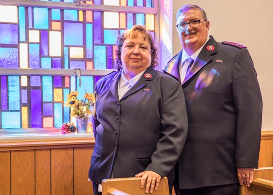 Salvation Army majors Kathleen and Paul Knickerbocker served the salvation army for 35 years and have recently decided to make Chillicothe their new home.