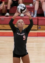 The Westfall girls volleyball team defeated Zane Trace 3-0 Tuesday night at Zane Trace High school.