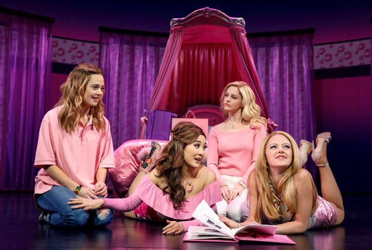 "They look friendly enough in this photo. But there's a reason Tina Fey called her movie – and this musical – ""Mean Girls."" Don't cross them. They'll be at the Aronoff Center Oct. 5-17 as part of the Broadway in Cincinnati series."