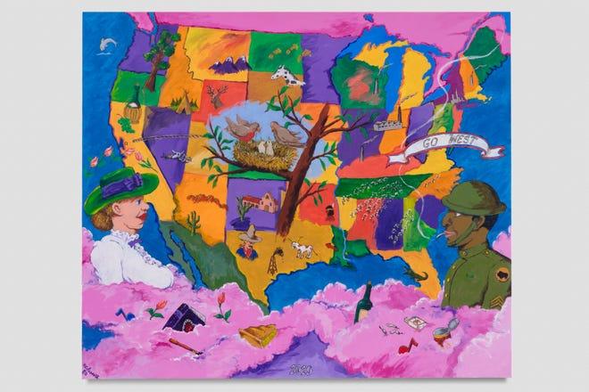 "The Contemporary Arts Center hosts a retrospective of the work of Robert Colescott called ""Art and Race Matters: The Career of Robert Colescott,"" running Sept. 20-Jan. 12. Seen here is the artist's 1980 worked called ""1919."""