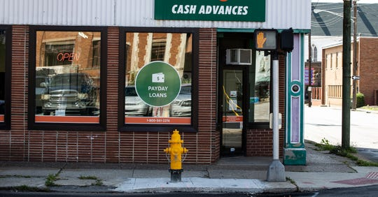 Payday loan storefronts are common in poor neighborhoods because poor people are by far the most likely to use them.