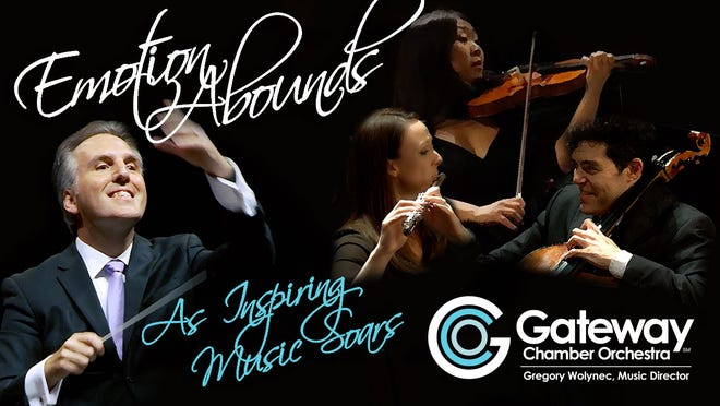 Season tickets are available now for the Gateway Chamber Orchestra's 2019-20 season – Emotion Abounds. This season presents the works of Franz Joseph Hayden, Wolfgang Amadeus Mozart and other composers who have come to define the GCO's sound and approach, as well as American composers and internationally celebrated guest artists.