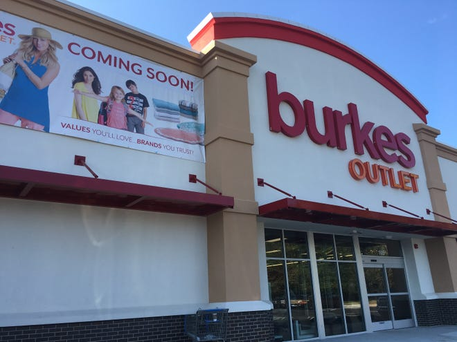 Burkes Outlet opens soon in the old Madison Street Kmart location.
