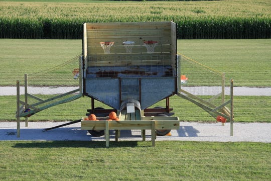 Geisler Farms introduced grain wagon hoops as part of its new activities for 2019.