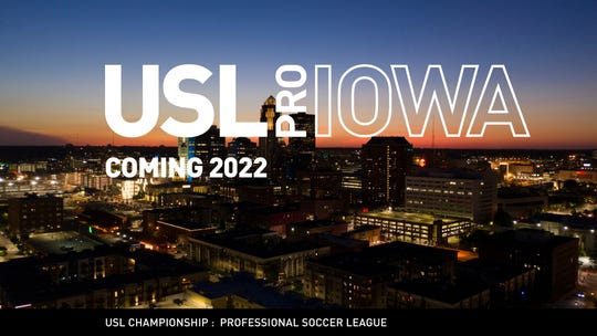 The ownership group of the Des Moines Menace  announced plans Wednesday to upgrade its team to the USL Championship division in 2022. Such a move involves the construction of a multi-use, but soccer-specific, downtown stadium.