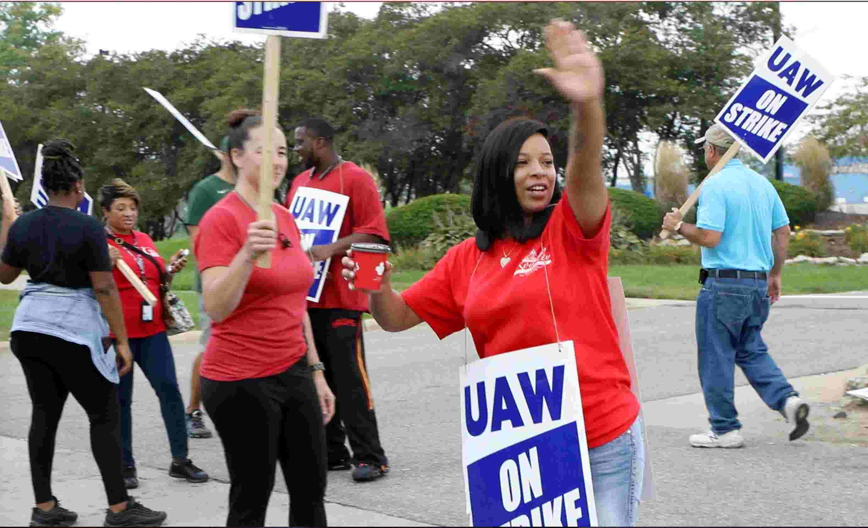 UAW: 'Pay hasn't caught up with inflation' after 'bankruptcy sacrifices'